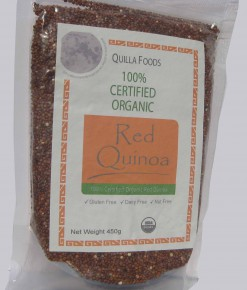 Organic Quinoa Red 450g