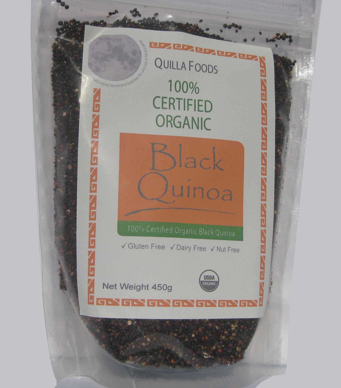 Organic Black Quinoa 450g