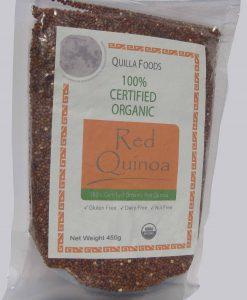 Organic Red Quinoa 450g