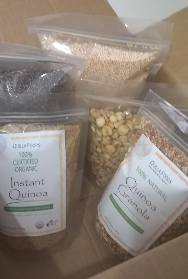 Quilla Foods Organic Combo Pack 2